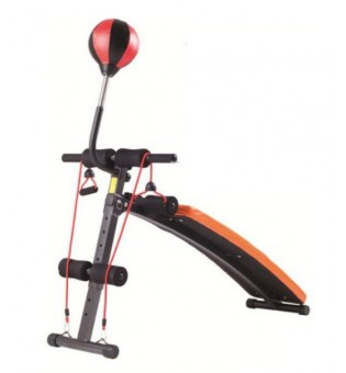 Novafit AB010 SIT UP Bench With Rope & Punching Ball