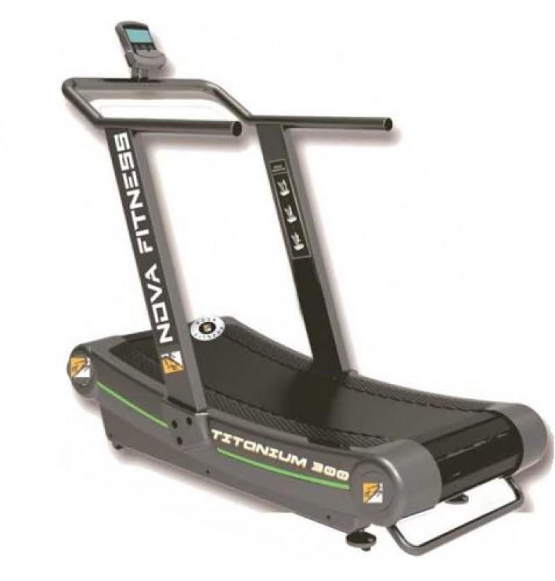 Novafit Titanium 300 Curved Treadmill (Commercial)